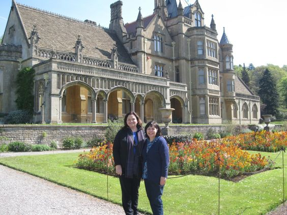 Cathy Gohlke and I visited Tyntesfield in May 2014
