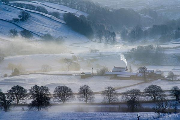 Winter Scene in Vermont