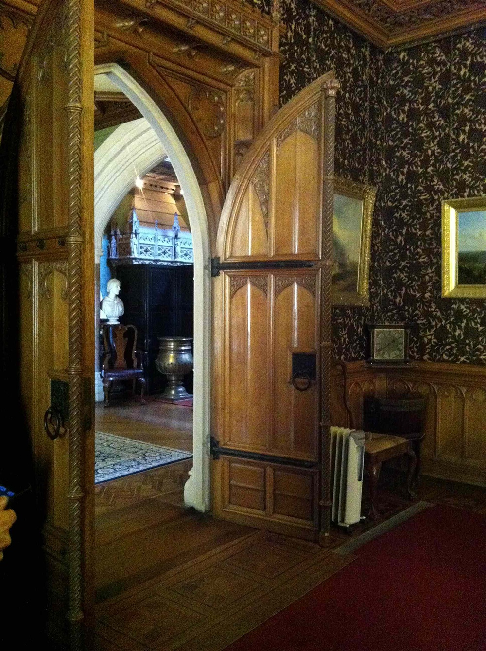 Doorway out of the dinning room