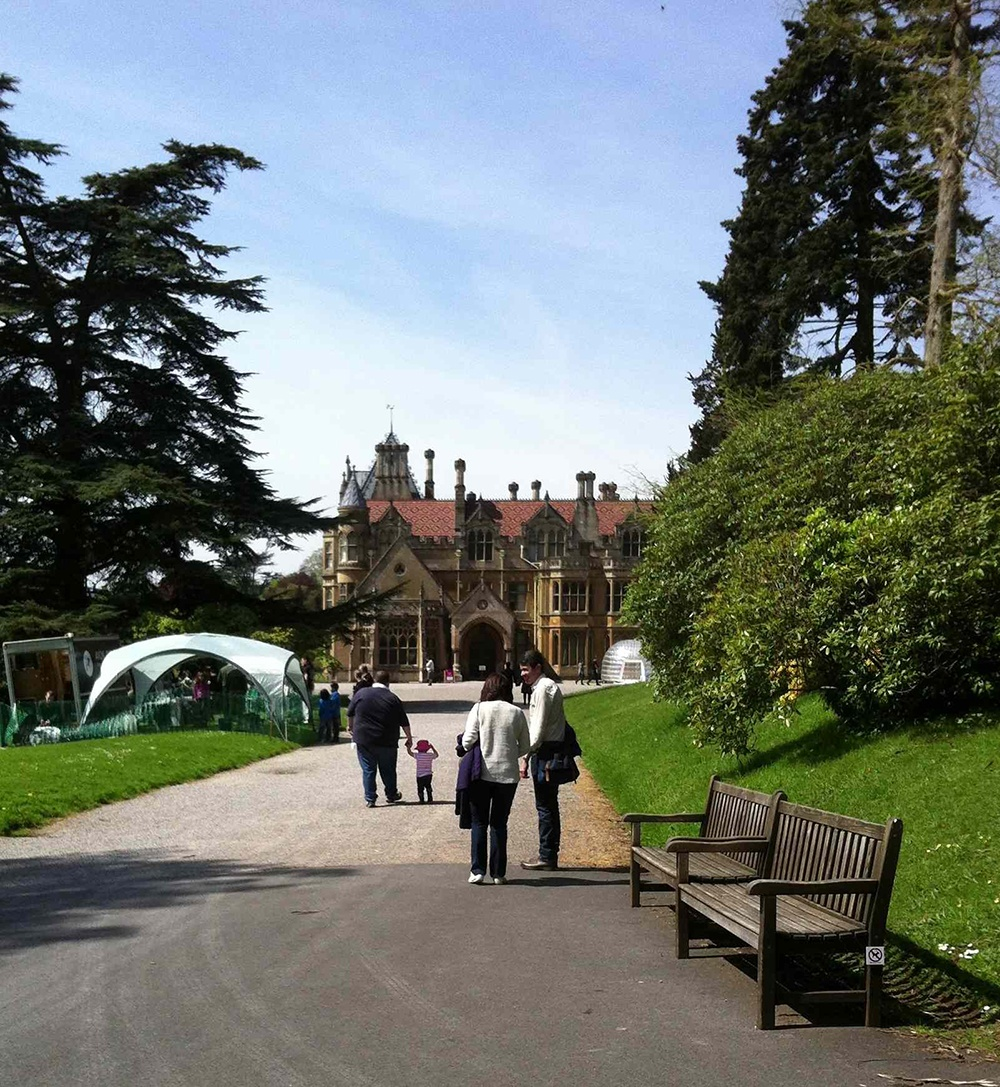 Welcome to Tyntesfield, the inspiration for the setting of the Highland Hall books