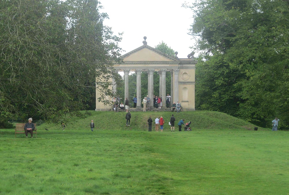 One of the follies at Highclere