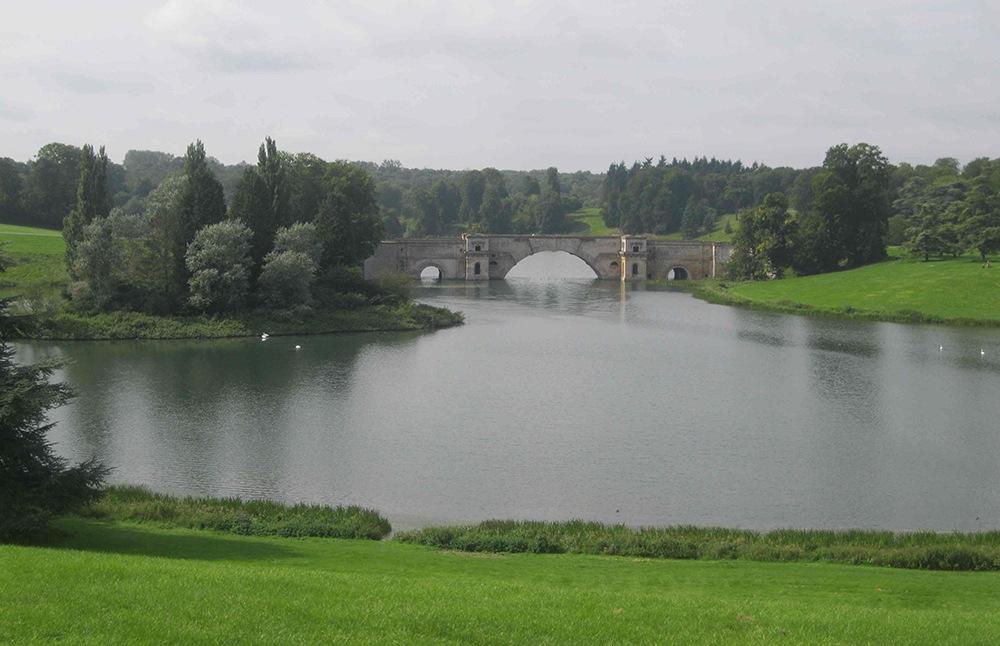 Blenhiem Palace parkland