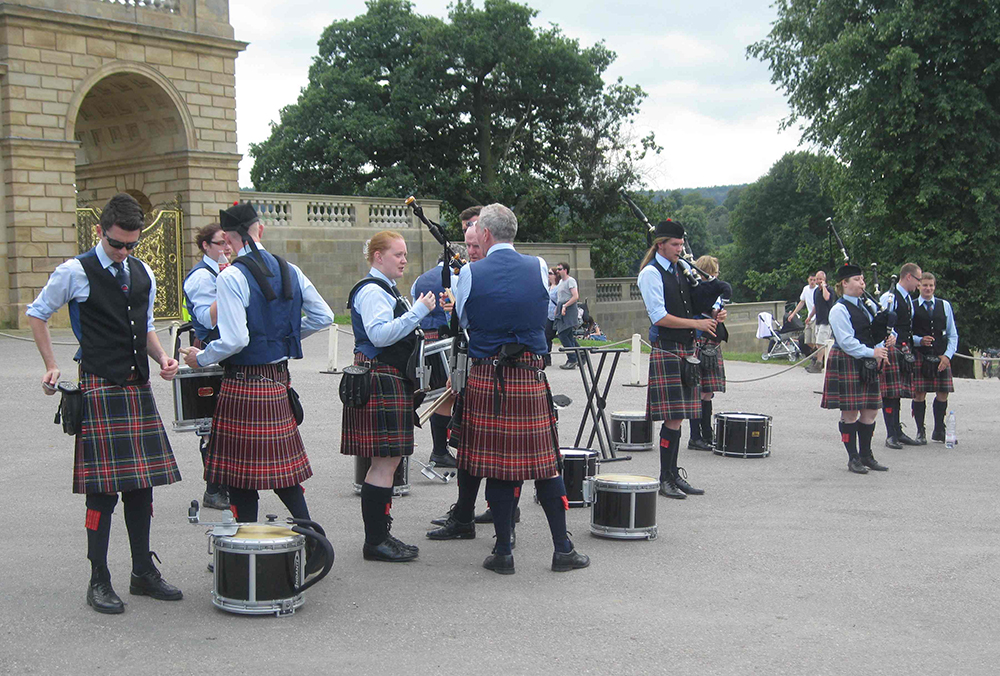 Pipers at Chatsworth Country Fair