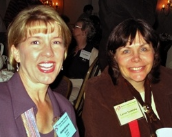Author Debra Raney and Carrie at the ACFW 2005 National Conference in Nashville.