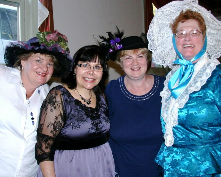 Deb, Carrie, Gina, and Barb