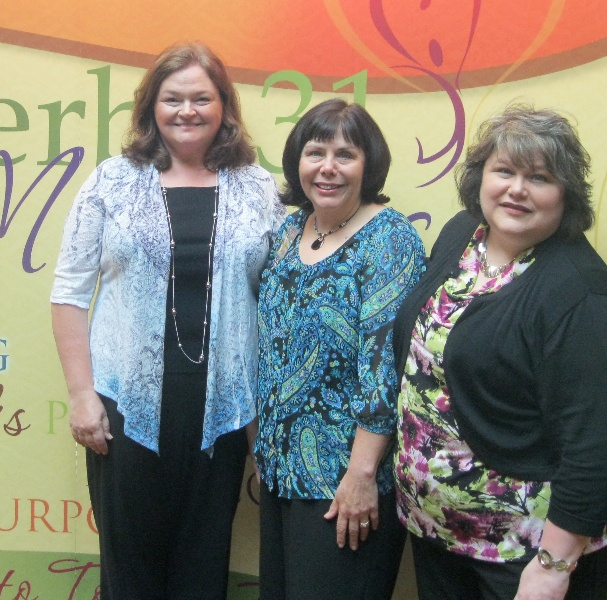I attended Proverbs 31 She Speaks training with authors Cathy Gohlke and Terri Gillespie