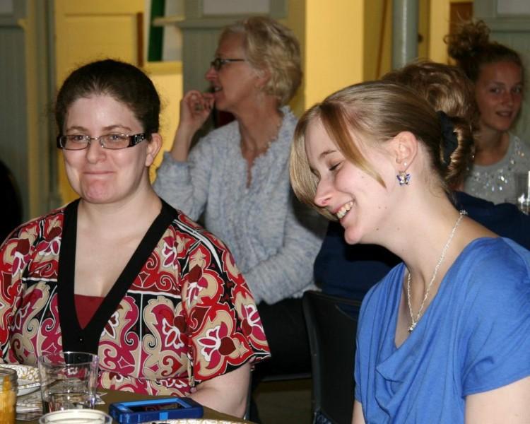 Lizzy, Grace, Megan